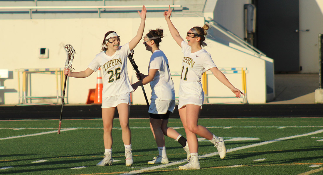 Tiffin University secured the regular season G-MAC championship with a 17-3 win over Ursuline.