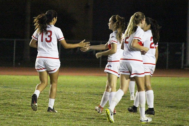 Mesa Women's Soccer Wins 5-1 at South Mountain
