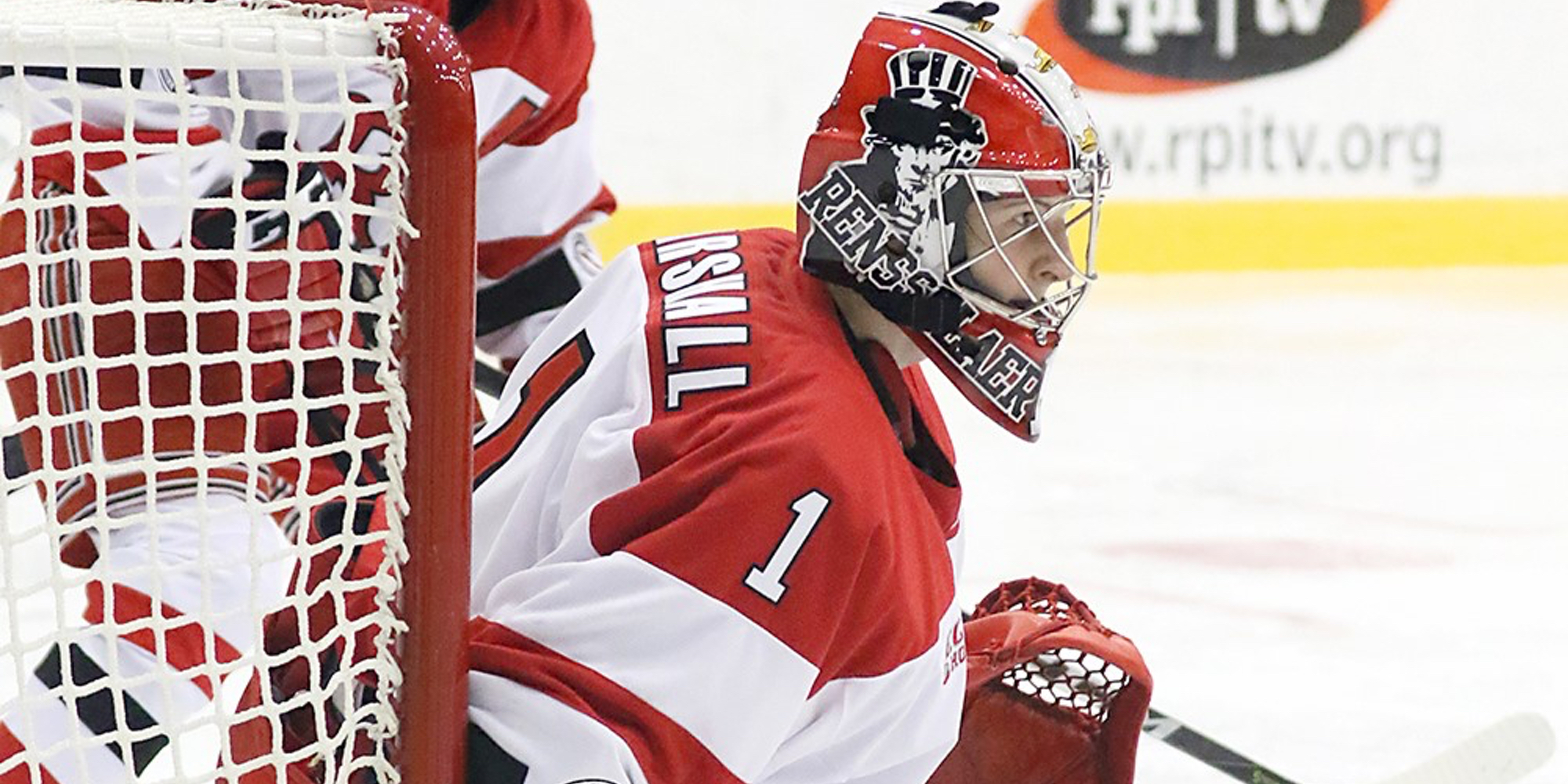 Marshall's career-high 45 saves help Engineers share of ECAC Hockey points