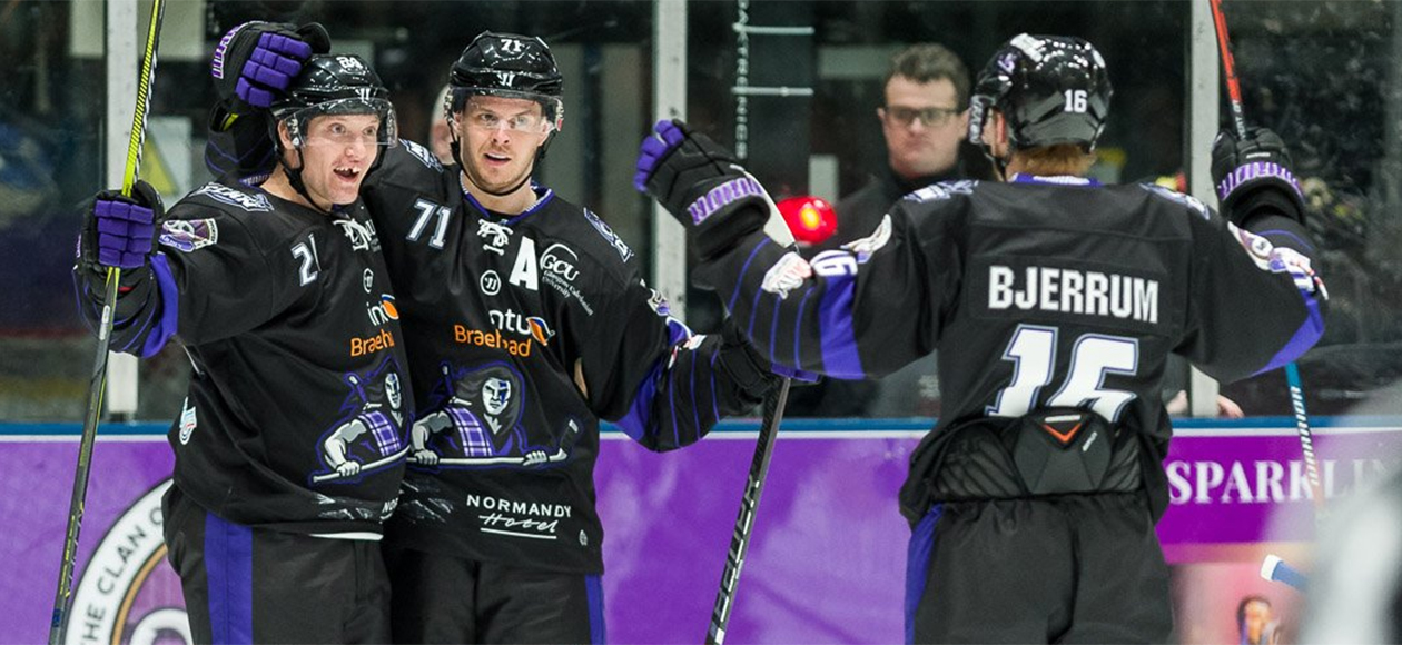 Jack Musil (left) celebrates his first professional goal.
