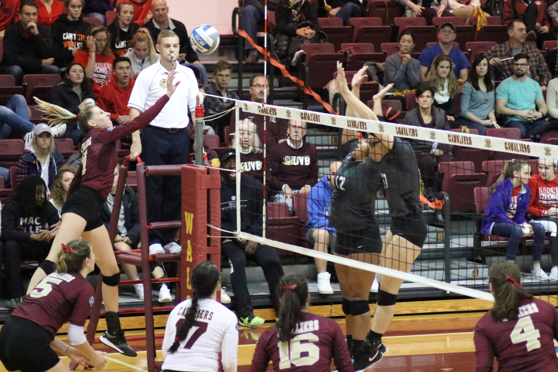 Cavs Fall to Lake Erie in Five Sets