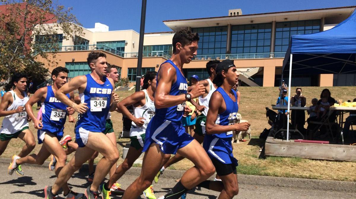 Cross Country Squads Split with Cal Poly; Guijarro Leads Men to Victory