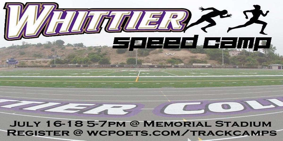 Track & Field Hosts Whittier Speed Camp