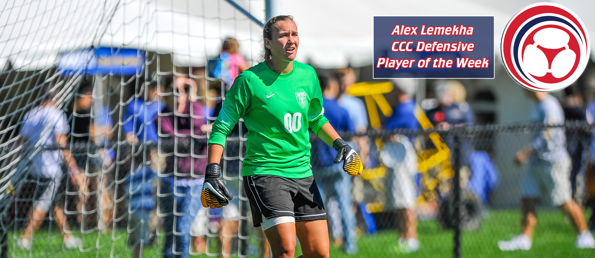 Alex Lemekha Receives Third CCC Defensive Player of the Week Award
