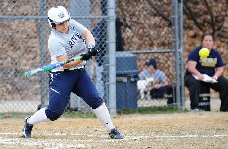 Softball: Rivier completes four-game sweep of Fisher College