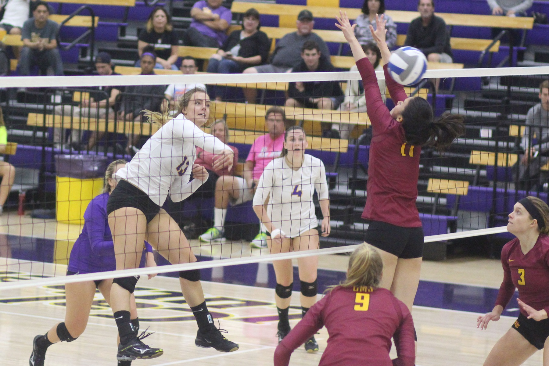 Regals Lose Four-Set Battle to the Athenas
