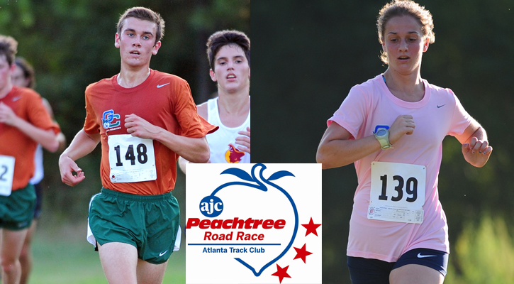 Bobcat Runners Compete at Peachtree Road Race