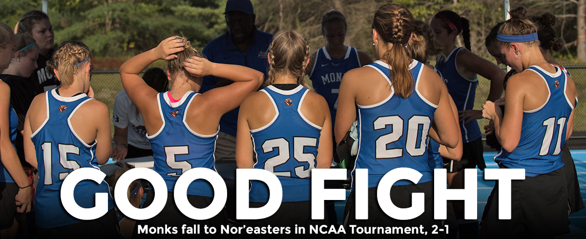 Nor'easters Rally Past Monks in NCAA Tournament, 2-1