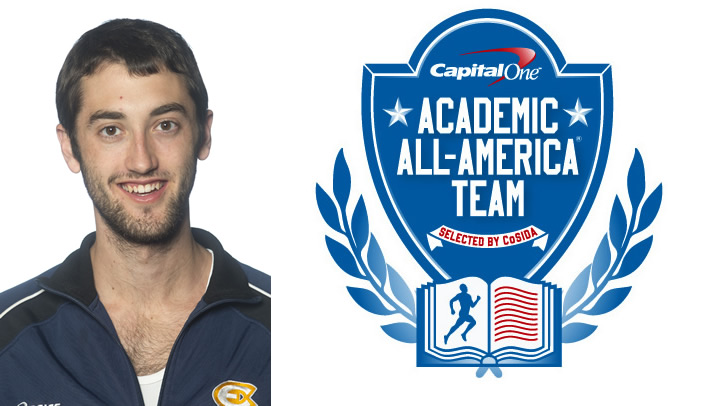 Jeremy Kieser Named to Academic All-District Team
