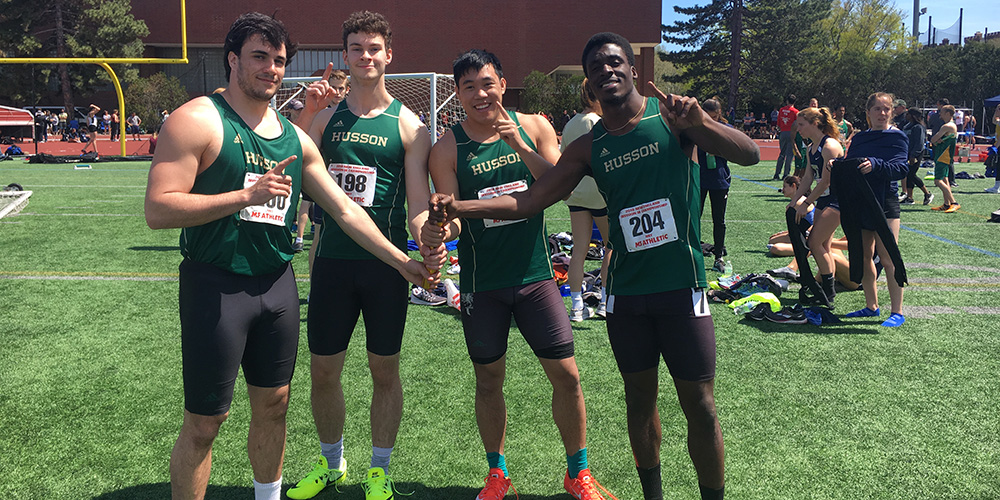 Men's Outdoor Track and Field Finishes 22nd at DIII New England Championship