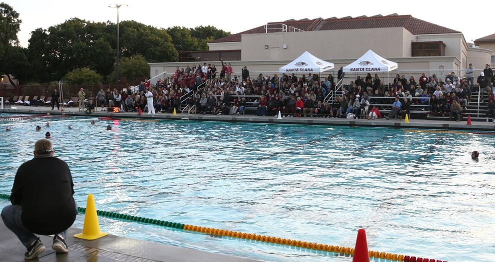 Crowd, fans at Sullivan Aquatic Center