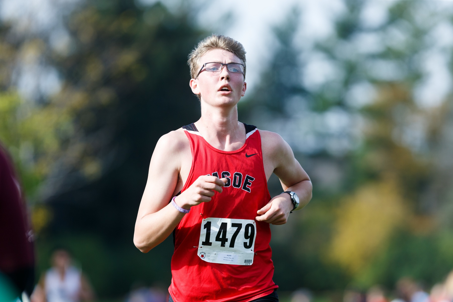 Men's Cross Country Takes Second at NACC Championship