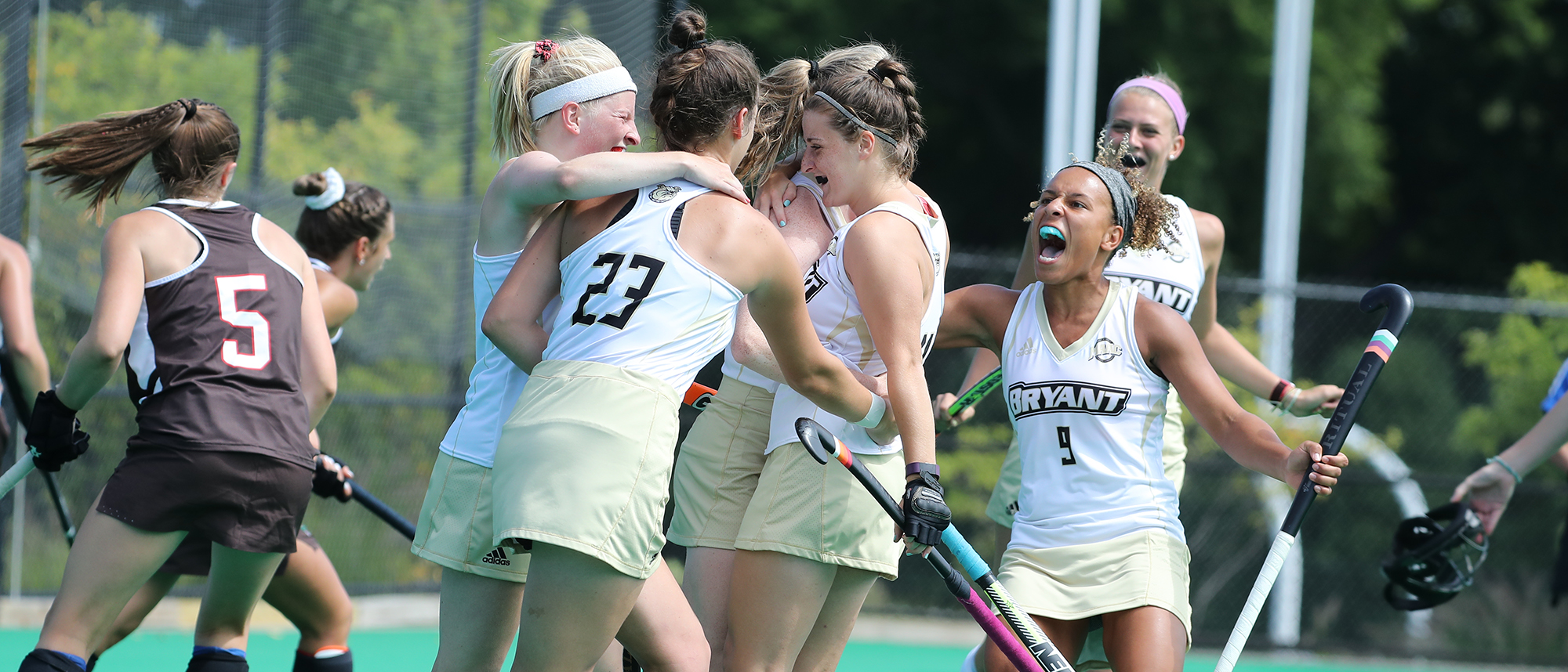 Bryant shuts out Colgate