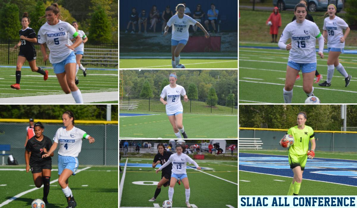 Westminster Women's Soccer Places Seven on All-Conference Teams