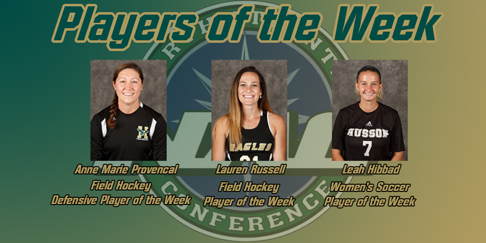 Hibbad, Russell, and Provencal Earn NAC Weekly Awards