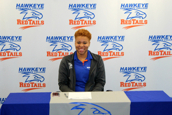 Ebony Campbell Joins Hawkeye RedTails Soccer Coaching Staff