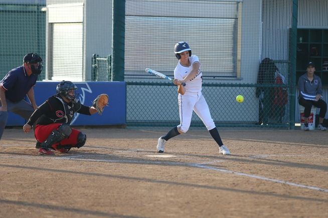 File Photo: Brianna Spoolstra went 3-for-5 with 3 RBI for the Falcons