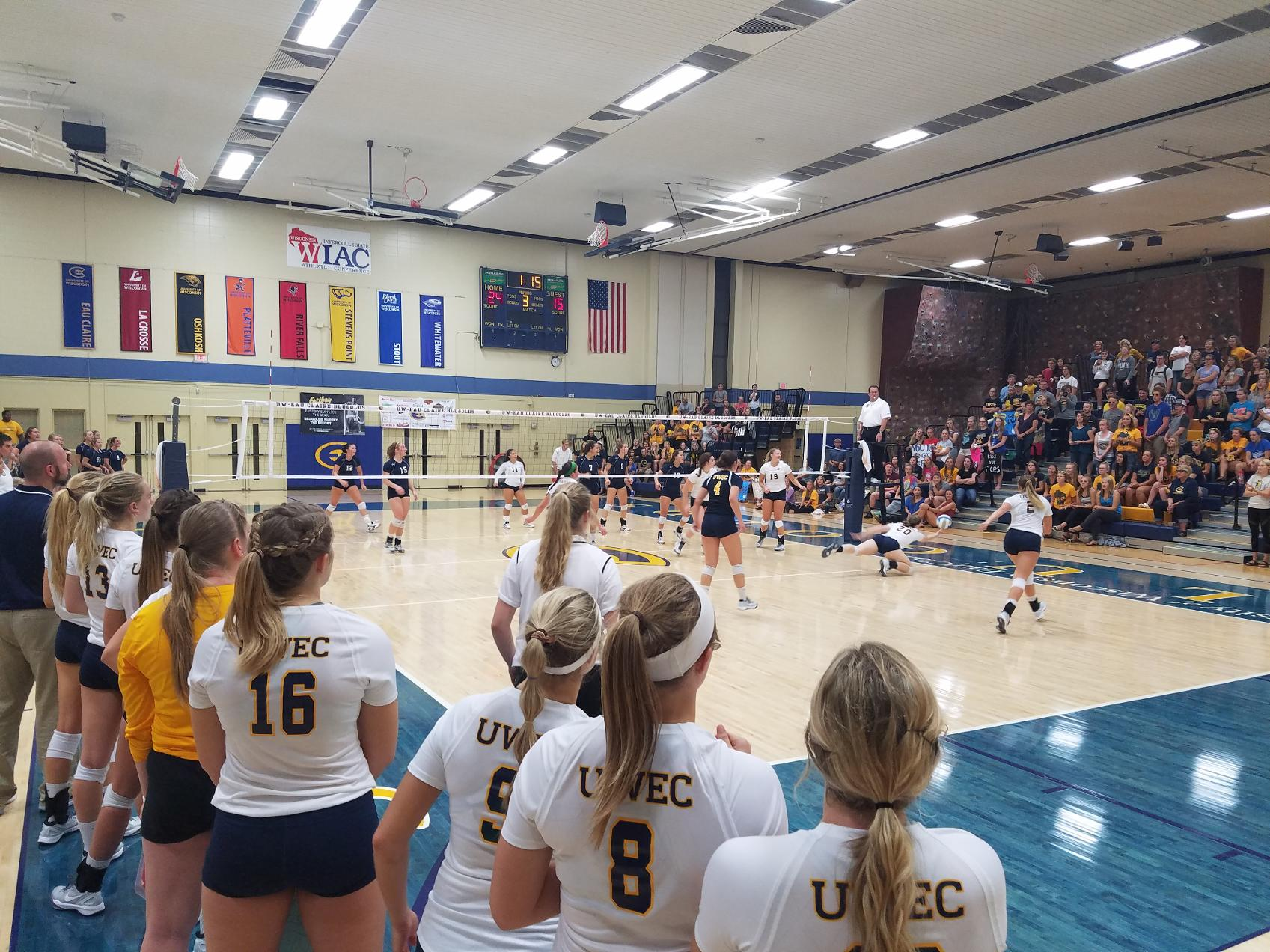 UW-Eau Claire Volleyball Releases 2017 Schedule