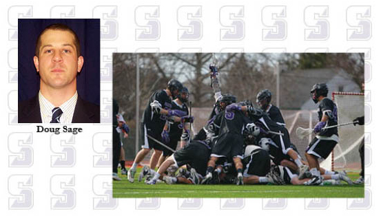 Athletics director Toby Lovecchio announced Wednesday morning that Doug Sage has been appointed head men's lacrosse coach at the University. He comes to Scranton after spending the past two seasons as the top assistant at Gettysburg College.
