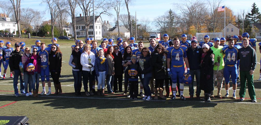 Mariners Fall to Salve Regina on Senior Day