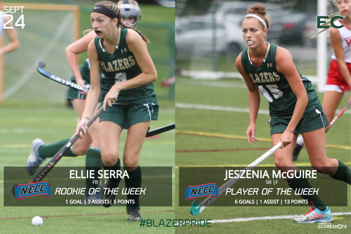 McGuire, Serra Pick Up NECC Awards After Two-Win Week