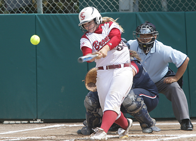 SCU Softball Drops First Two at Fresno State's 'Weekend Series'