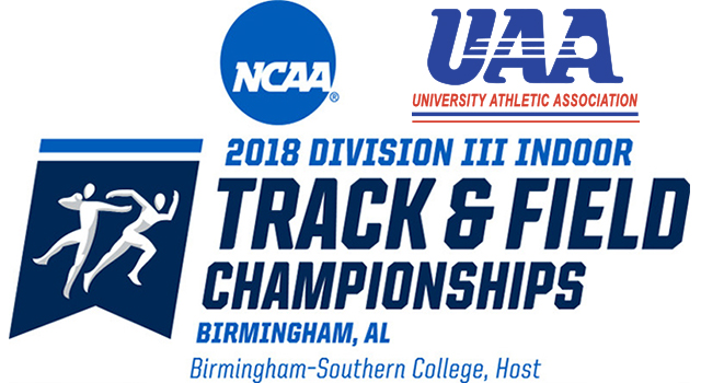 14 UAA Men Qualify for NCAA Division III Indoor Track and Field Championships