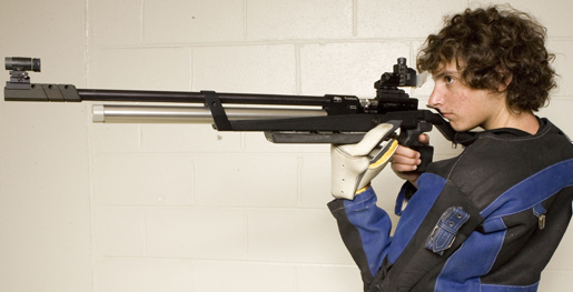 Tennessee Tech rifle shoots against Columbus State