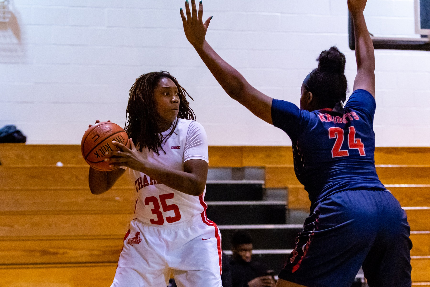 LADY CHARGERS FALL TO SCSU