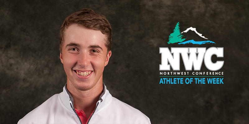 Hinton is Chosen as NWC Men's Golf Student-Athlete of the Week