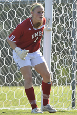 Lauren Kadet leads the America East with 103 saves this season.