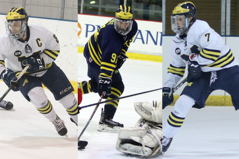 Photo for Urso, Groat, Dunn Take ACHA National Honors