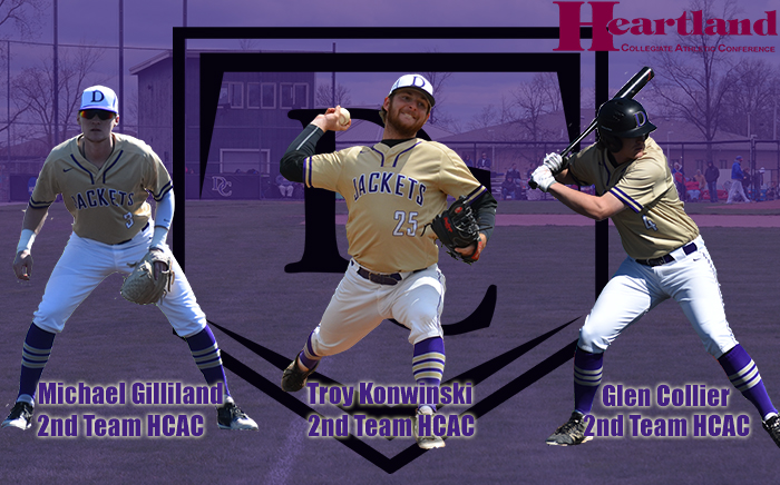 Five Yellow Jackets Earn All-HCAC Baseball Honors