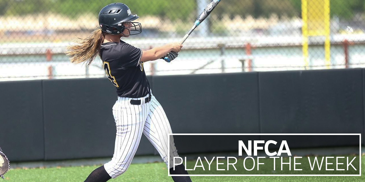 Texas Lutheran's Kaymee Gooden Named NFCA Player of the Week