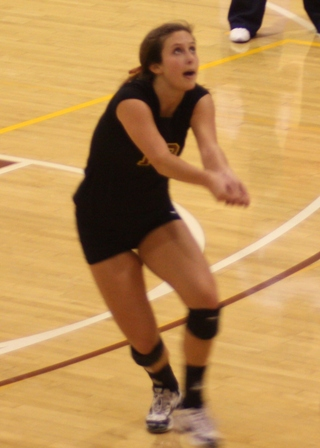 Athenas Volleyball Wins Two on Friday Night