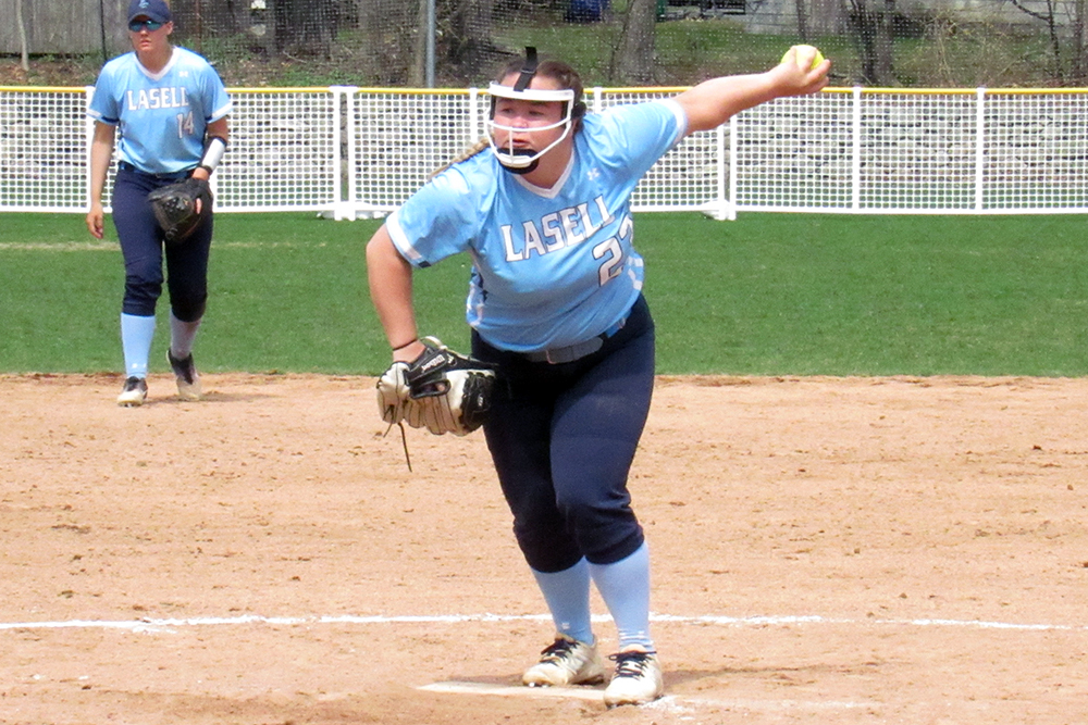 SB: Lasell sweeps key GNAC doubleheader over Regis
