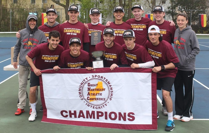 CHAMPS! Men's Tennis Claims First-Ever GNAC Crown with 5-0 Victory over Ramapo