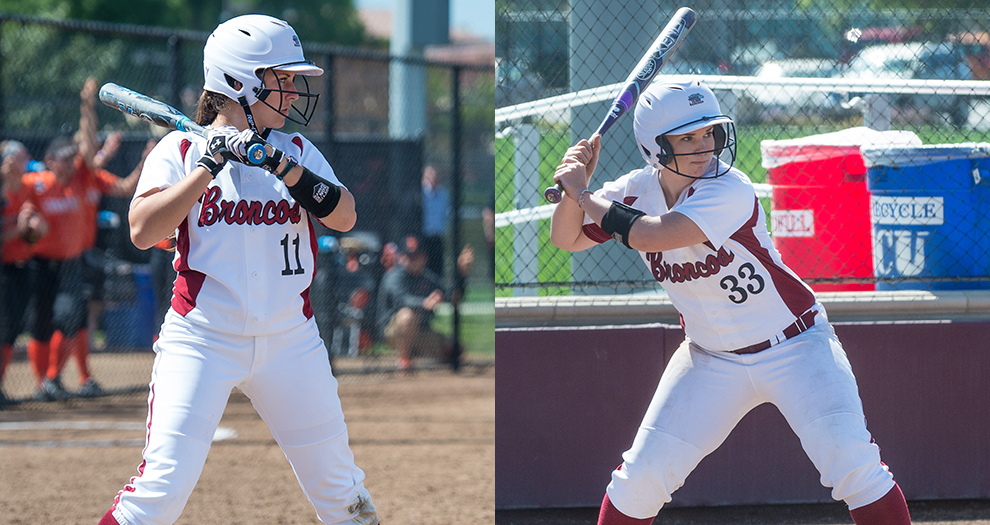 Two Softball Players Nab WCC All-Academic Honors