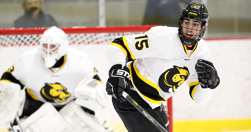 Hockey Rallies Past Becker to Pick up First Win