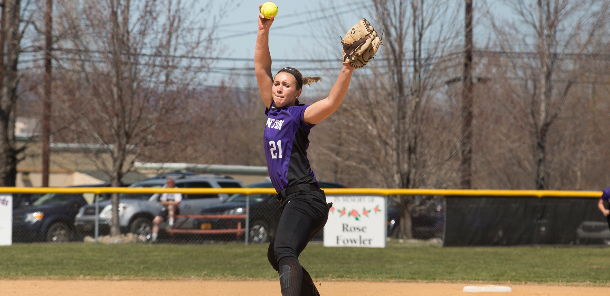 Junior pitcher Morgan Rentzheimer didn't allow a hit for four and one-thirds against MCLA on Thursday, as Scranton won the game, 15-1. Rentzheimer finished the Spring Break trip with a 4-2 record, as well.