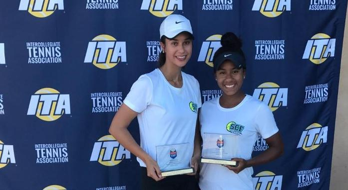 Doubles Champs at ITA Oracle Cup