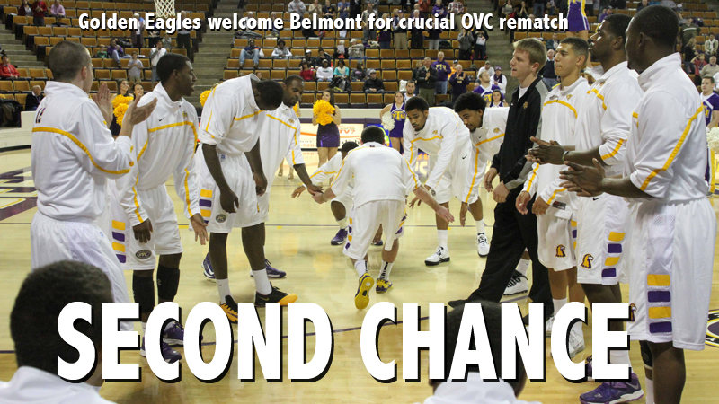 Golden Eagles look to take advantage of second chance against Belmont