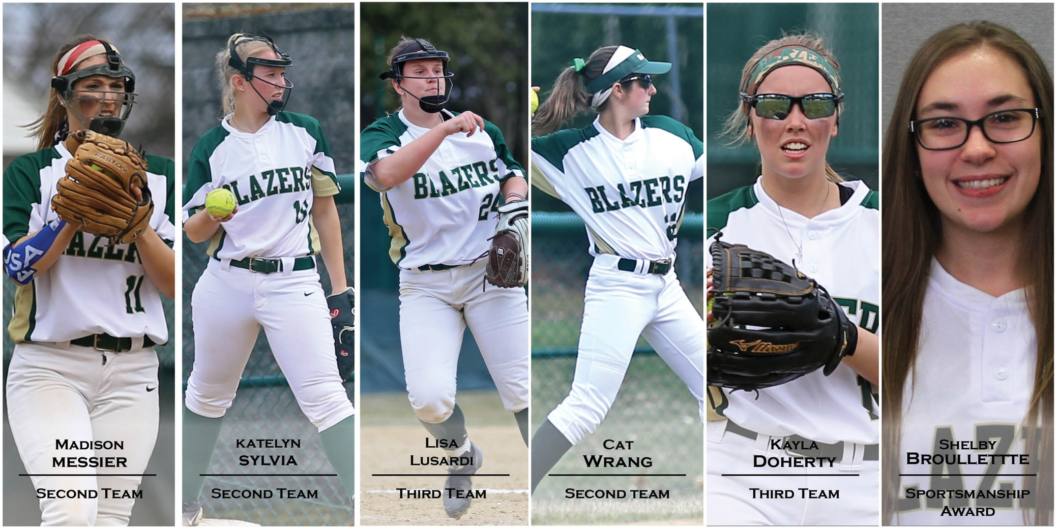 Softball Has Six Selected To NECC All-Conference Team