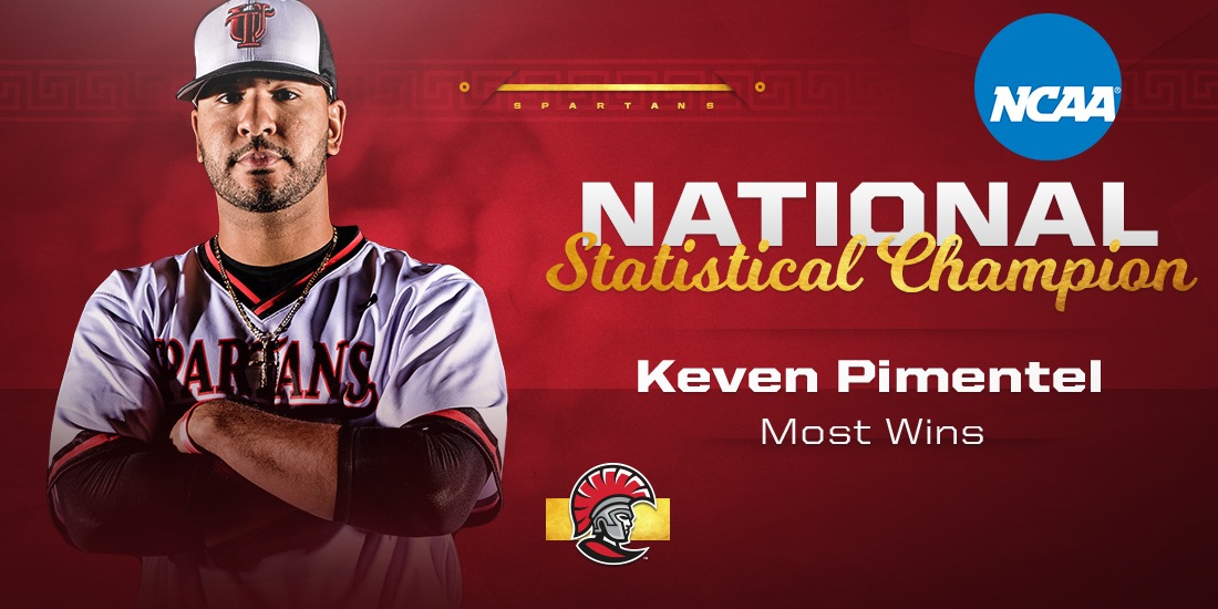 Keven Pimentel Named NCAA Statistical Champion For Wins