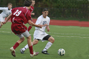 Men's soccer tops Springfield, 3-1, in regular season home finale