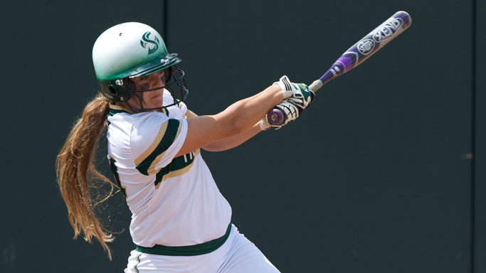 SOFTBALL POUNDS OUT 19 RUNS AND 31 HITS IN SWEEP OF NORTHERN COLORADO