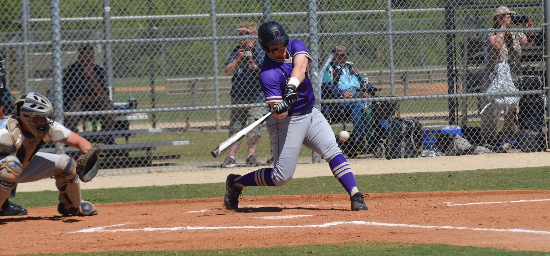Baseball Remains Unbeaten After Win and Tie