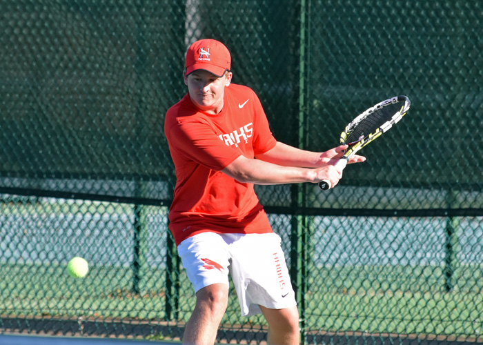Men's tennis competes in ITA South Region Championships
