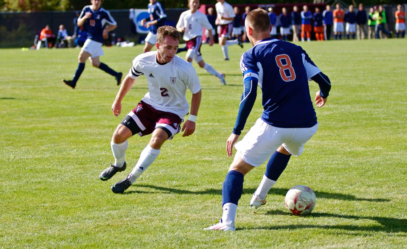 Scots Men's Soccer on short end of a 1-0 score against Hope on Tuesday
