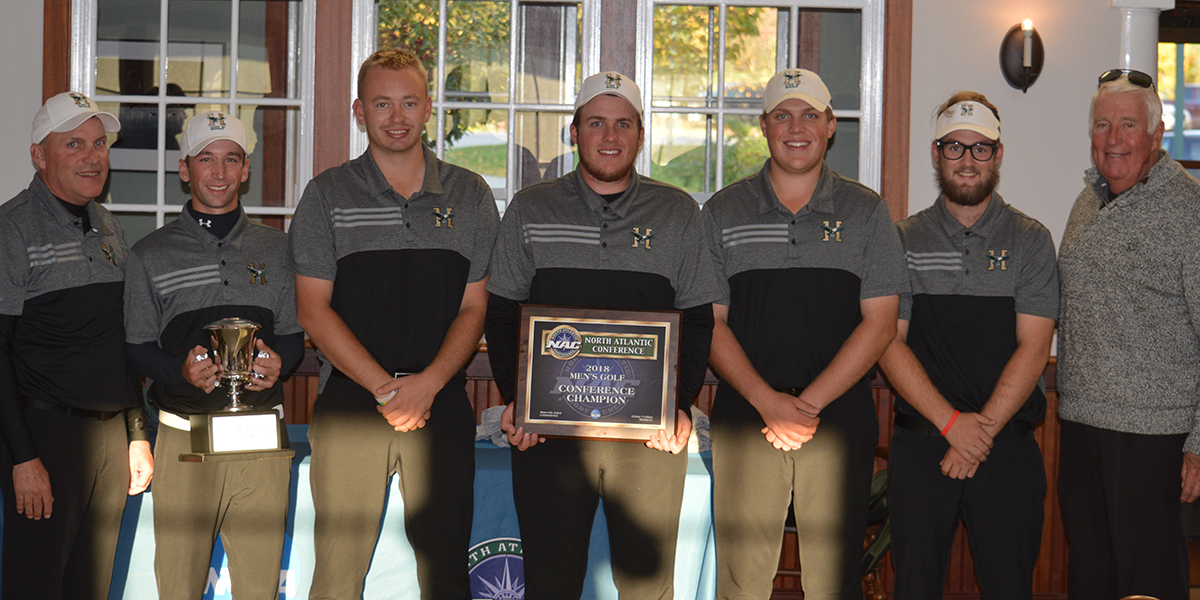 Men's Golf Wins 14th NAC Championship in 16 Years and the 38th Conference Crown in Program History